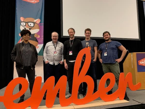EmberConf2019 Team Photo